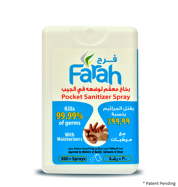 Farah Pocket Sanitizer Spray